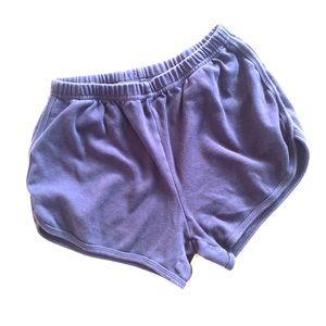 Retro Style Running Shorts